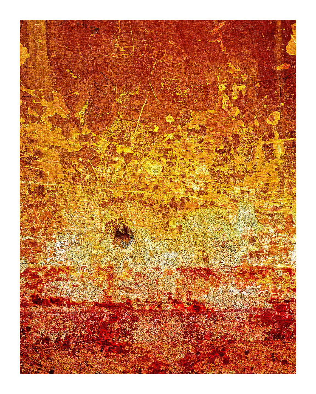 Orange Bullet Hole
