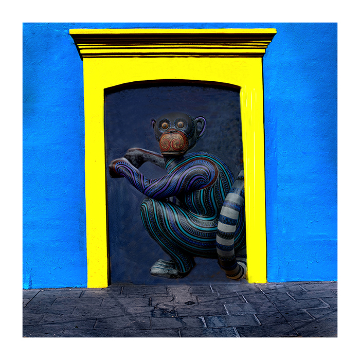 Yellow Door Monkey